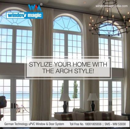 upvc windows India